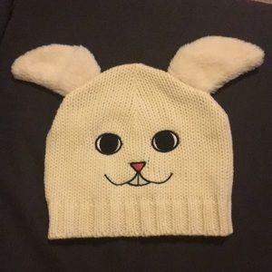 Bunny rabbit beanie